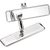 Billet Specialties Rearview Mirror - Full Size - Ball Milled