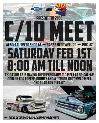 C/10 Meet  with C/10 CIub AZ at SOCALAZ!