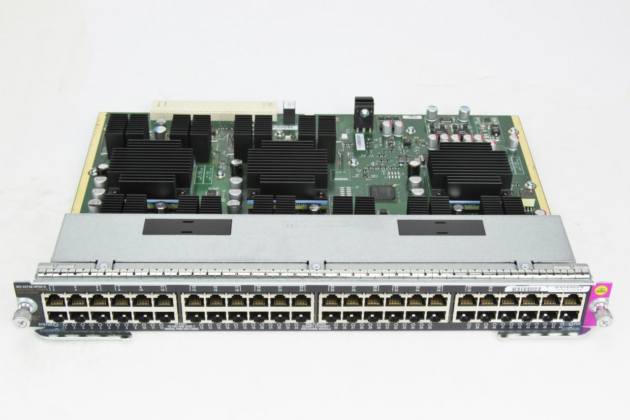 Cisco 4500 48-Port Line Card WS-X4748-UPOE+E