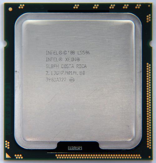 Intel Processor L5506 4 Core CPU SLBFH A Grade Front View