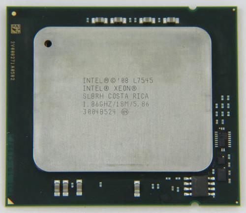 Intel Processor L7545 6 Core CPU SLBRH A Grade Front View