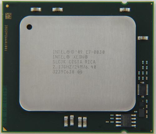 Intel Processor E7-8830 8 Core CPU SLC3K Front View