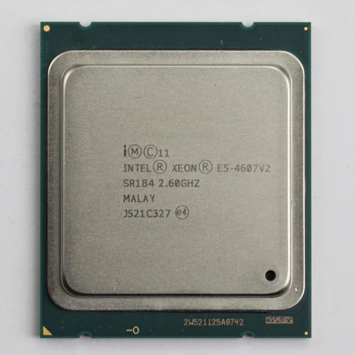 Intel Processor E5-4607v2 6 Core CPU SR1B4 B Grade Front View