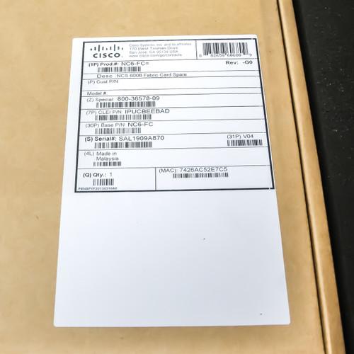 Cisco Network Module Fabric Card