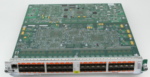 Cisco 7600 Series Line Card 7600-ES+40G3C Front View