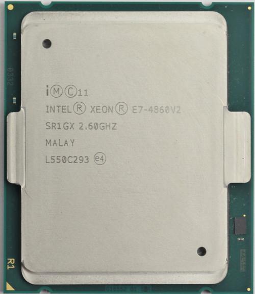 Intel Xeon CPU E7-4860v2 Processor SR1GX Front View