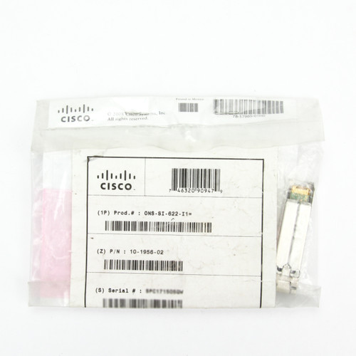 Cisco Transceiver ONS-SI-622-I1 UPC Package View