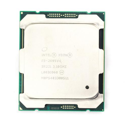 Intel Processor E5-2695v4 18 Core CPU SR2J1 B Grade Front View