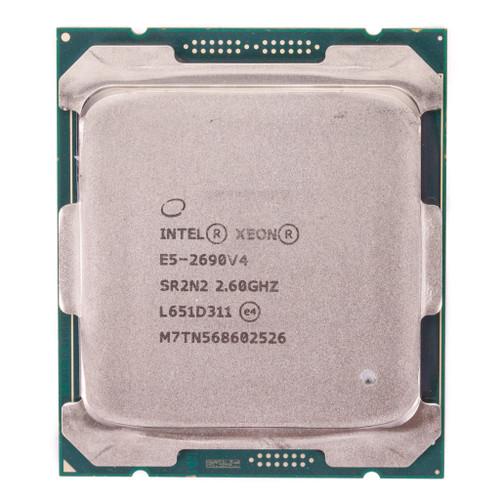 Intel Processor E5-260v4 14 core CPU SR2N2 b Front View