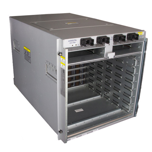 DCS-7508 Arista Data Center Chassis w/ 6x 7508E-FM 4x PWR-2900AC 2x 7500E-SUP