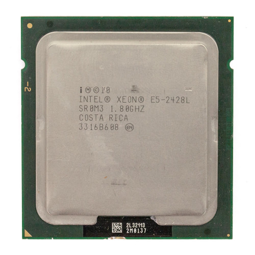 Intel® Xeon® Processor E5-2428L SR0M3 6 core 1.8GHz Processor