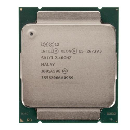 Intel® Xeon® E5-2673 v3, 12 core, 2.4GHz