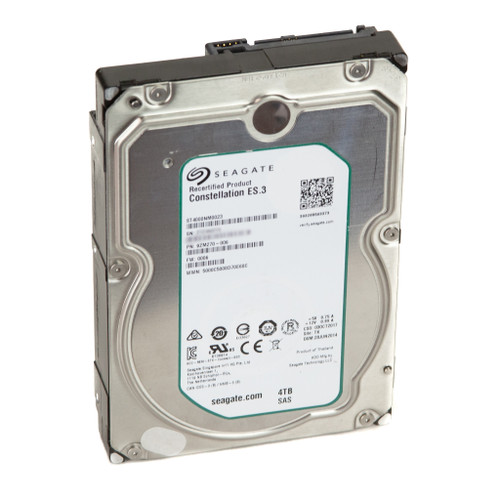 "Seagate Constellation ES.3 ST4000NM0023 4TB 7200 RPM 128MB Cache SAS 6Gb/s 3.5"" Enterprise Internal Hard Drive"