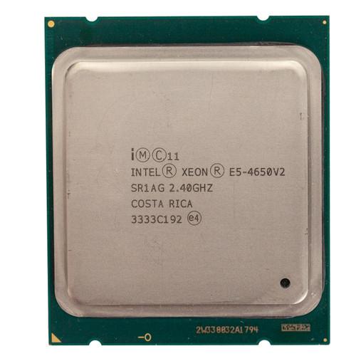 Intel® Xeon® E5-4650 v2, 2.4GHz, 10 Core Processor SR1AG (B-Grade)