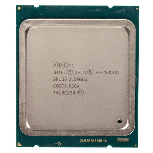 Intel® E5-4603 v2, 4 core, 2.2GHz Processor  SR1B6