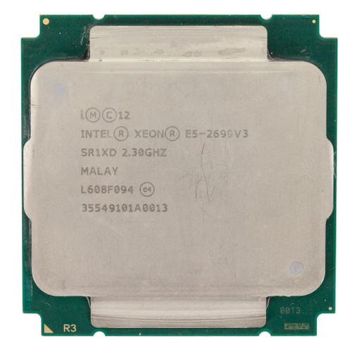 Intel® Xeon® E5-2699 v3, 18 core, 2.3GHz SR1XD (B-Grade)
