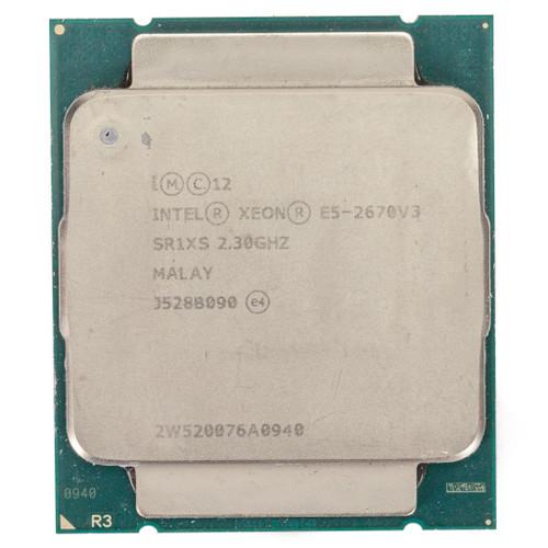 Intel® E5-2670 v3, 12 Cores, 2.3GHz SR1XS (B-Grade)