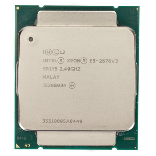 Intel® Xeon® E5-2676V3, 12 core, 2.4GHz Processor SR1Y5 (B-Grade)