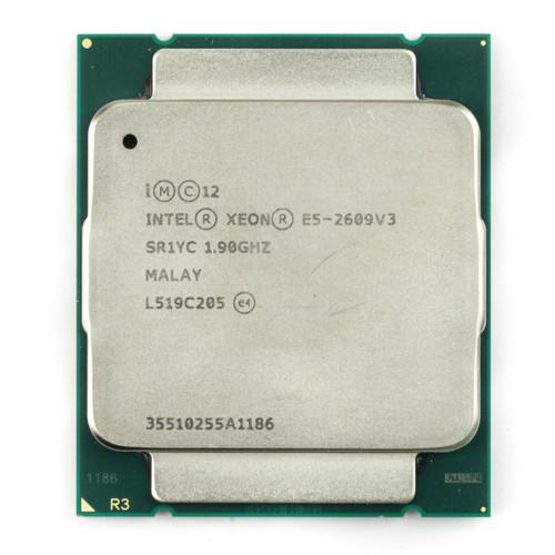 Intel® E5-2609 v3, 6 core, 1.9GHz SR1YC (Clean Pull)