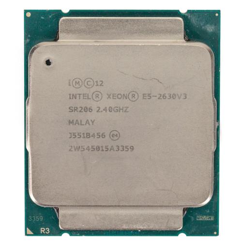 Intel® E5-2630 v3, 8 core, 2.4GHz SR206 (B-Grade)