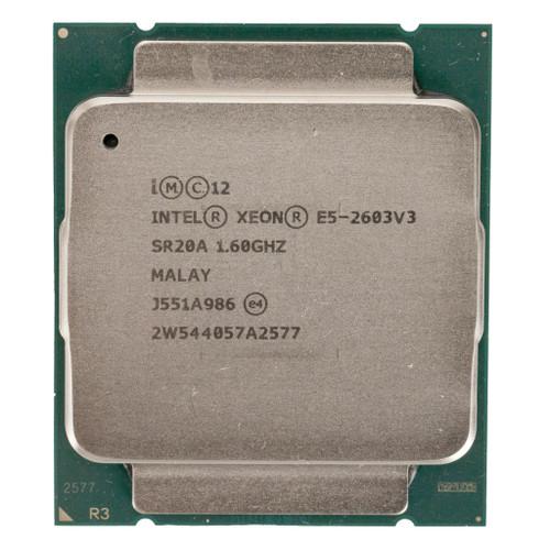 Intel® E5-2603 v3, 6 core, 1.6GHz Processor  SR20A (B-Grade)