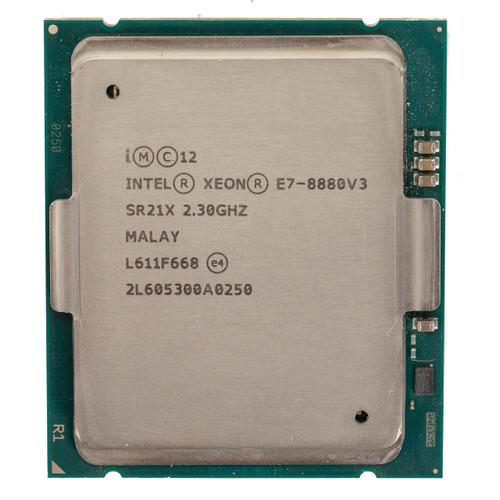 Intel® E7-8880 v3, 18 core, 2.3GHz SR21X (B-Grade)