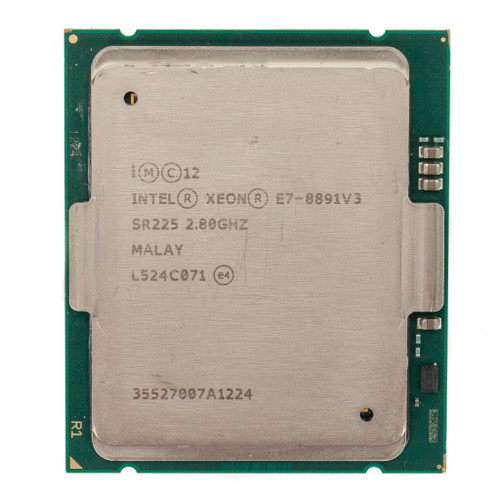 Intel® E7-8891V3, 10 cores, 2.80GHz SR225 (C-Grade)