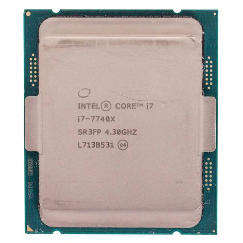 Intel® i7-7740X, 4 core, 4.30GHz SR3FP (C-Grade)