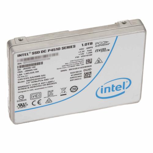 Intel DC P4510 Series SSDPE2KX010T8 1TB U.2 NVMe PCIe 3.1 x4 SSD Warranty 2022
