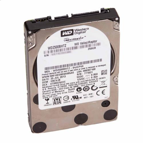 Western Digital WD2500BHTZ 250GB SATA 10000RPM 64MB - Under 500 Power-on Hours