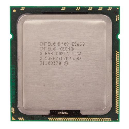 Intel® Xeon® E5630, 4 core, 2.53GHz Processor SLBVB (Clean Pull)