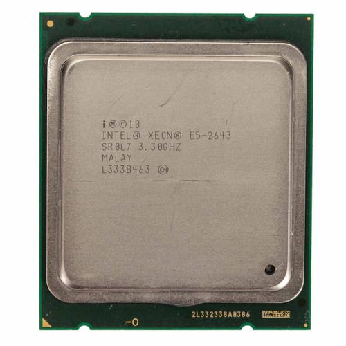 Intel® Xeon® E5-2643, 4 core, 3.3GHz Processor SR0L7 (B-Grade)