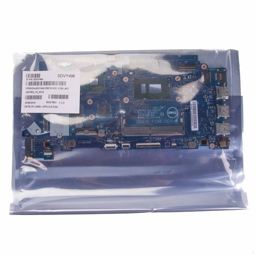 Dell OEM DVY4W Inspiron 15 7572 Motherboard With Intel i5-8520U Nvidia Graphics Open Box