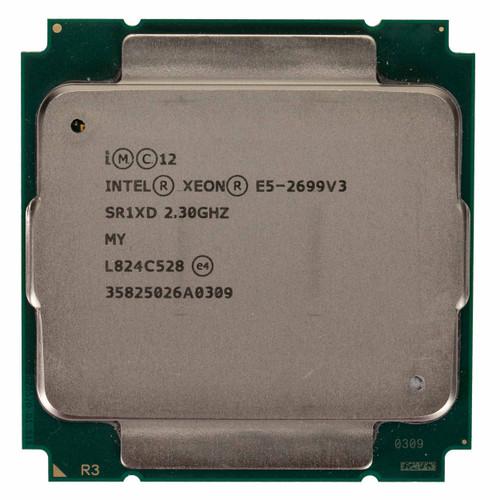 Intel® Xeon® E5-2699V3, 18 core, 2.3GHz Processor SR1XD