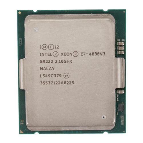 Intel® Xeon® E7-4830v3, 12 core, 2.10GHz Processor SR222