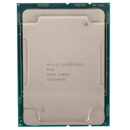 Intel® Xeon® Gold 6140, 18c, 2.3GHz Processor SR3AX (B-Grade)