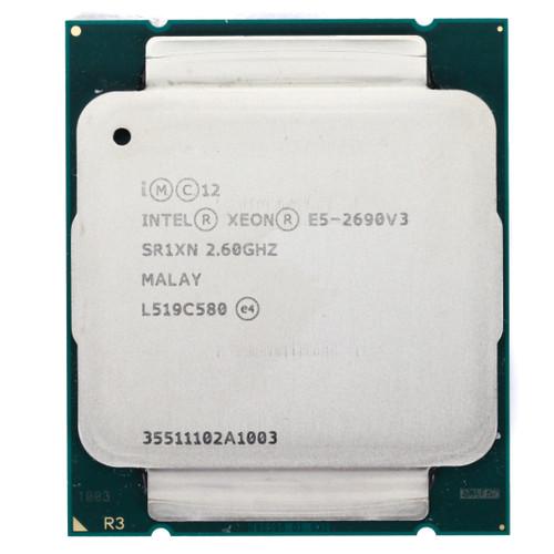 Intel® Xeon® E5-2690 v3, 12 core, 2.6GHz Processor SR1XN (Clean Pull)