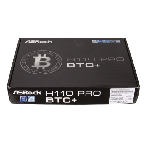 ASRock H110 Pro BTC+ 13GPU Mining Motherboard for Cryptocurrency