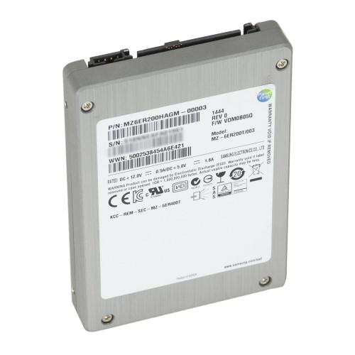 "200GB SAS 6GB/s 2.5"" SSD Samsung MZ-6ER200T/003 SM1625"