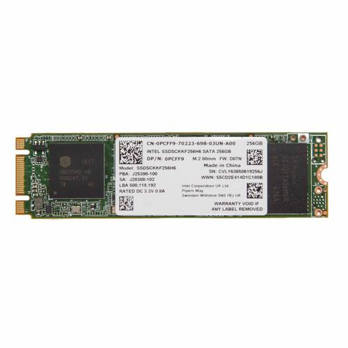 Dell PCFF9 Intel 600p Series SSDSCKKF256H6 256GB 6.0 Gbps M.2 80mm SSD