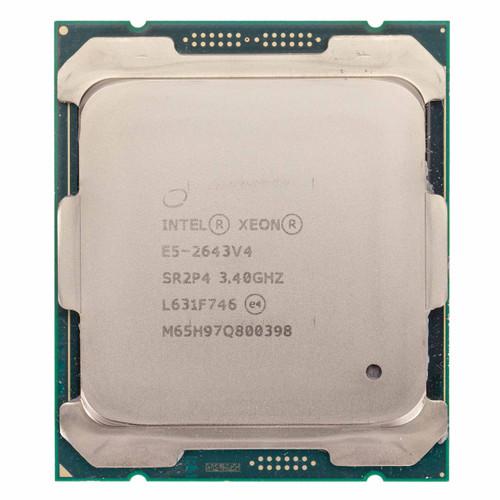 Intel® Xeon® E5-2643 v4, 6 Core, 3.4GHz Processor SR2P4 (B-Grade)