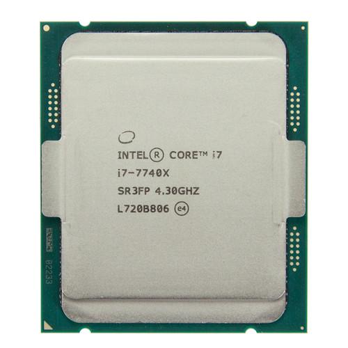 Intel® Core® i7-7740X, 4 Core, 4.30GHz Processor SR3FP (New Tray Processor)