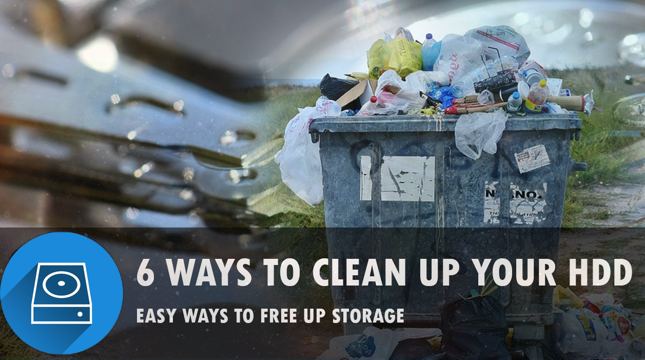 ​6 Easy ways to free up your hard disk