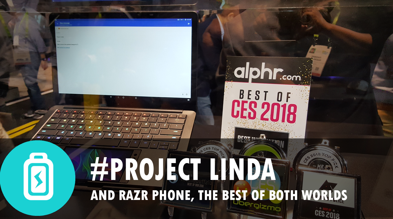 Razer Phone & Project Linda (CES2018) - Central Valley Computer Parts