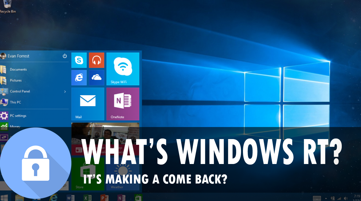Windows RT Is coming back?  What is this?