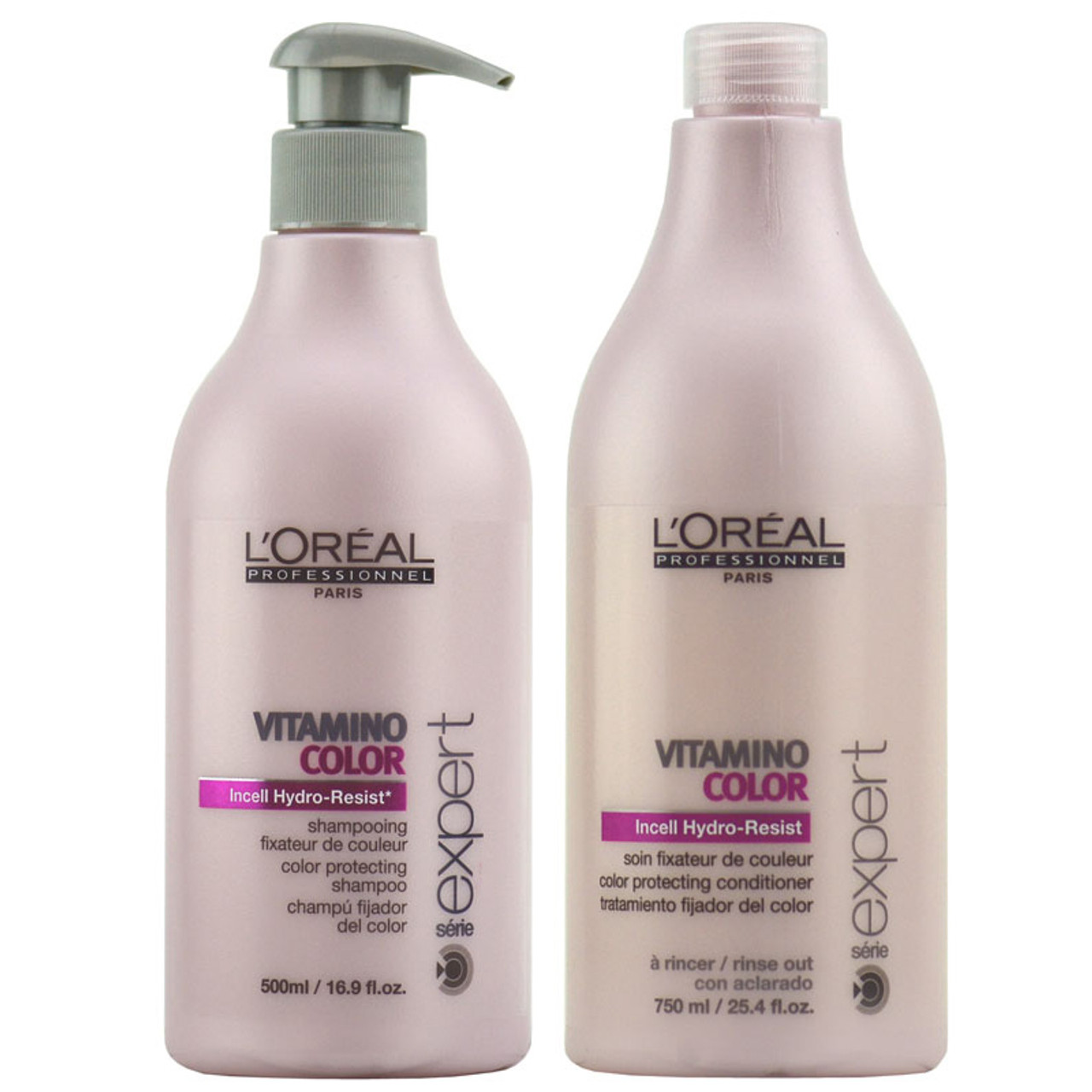 29d0650ee L'Oreal Serie Expert Vitamino Color Shampoo and Condition Kit - Hair Square
