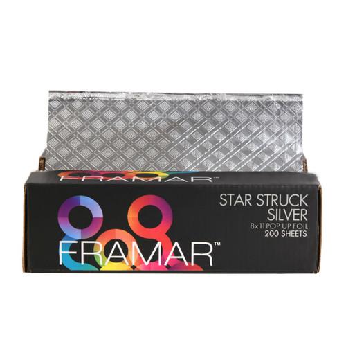 Foil It Star Struck Silver 8x11 Pop Up Foil Sheets