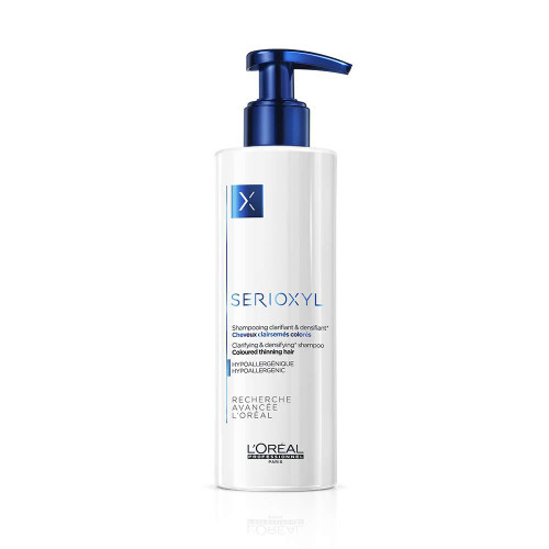 Serioxyl Clarifying & Densifying Shampoo for Coloured Hair, 250ml