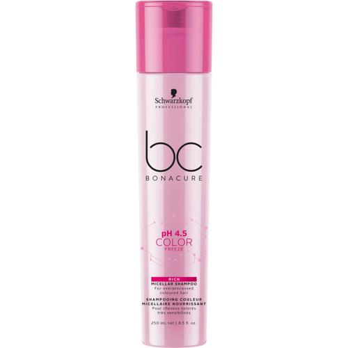 BC Bonacure pH 4.5 Color Freeze Rich Micellar Shampoo, 250ml