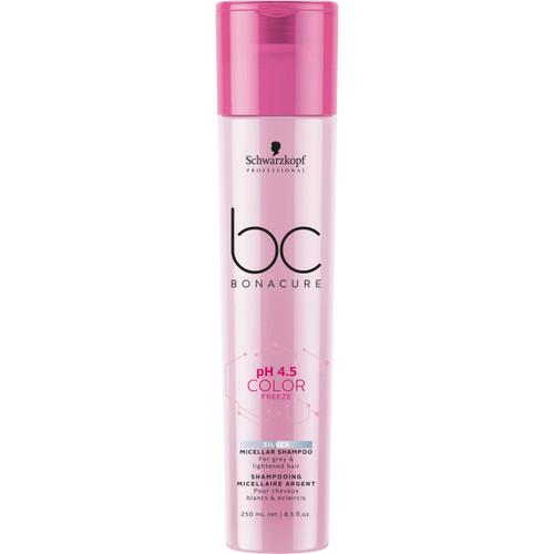 BC Bonacure pH 4.5 Color Freeze Silver Micellar Shampoo, 250ml